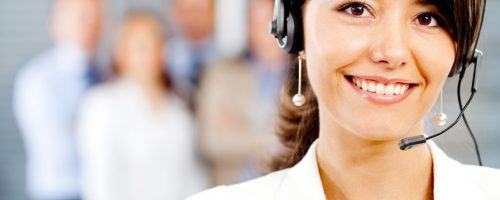 female customer support - packaging solutions