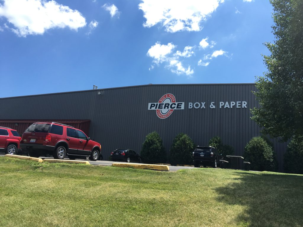 Pierce Box & Paper Corporation office - Illinois custom packaging solutions